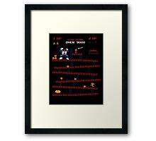 Vegeta Kong Framed Print