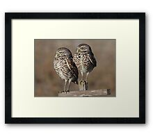 Mom and Dad Framed Print