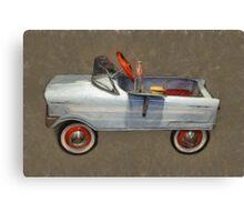 Tee Bird Pedal Car Canvas Print