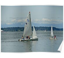 South Puget Sound Sailing Poster