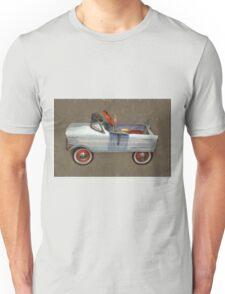 Tee Bird Pedal Car Unisex T-Shirt