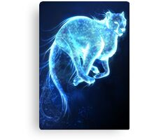 Cheetah Patronus Charm Canvas Print