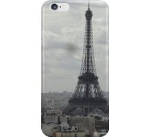 The View From the Top of the Arch de Triumph iPhone Case/Skin