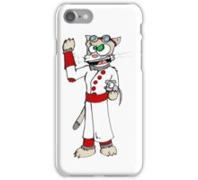 chatvant fou iPhone Case/Skin
