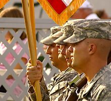 Color Guard by Allan  Erickson