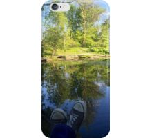 Lazy Afternoon in the Lily Pond iPhone Case/Skin