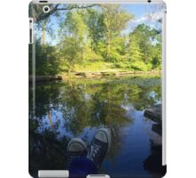 Lazy Afternoon in the Lily Pond iPad Case/Skin