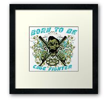 Cage Fighter Framed Print