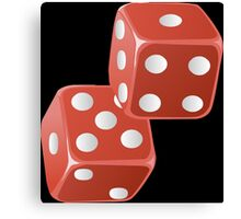 DICE-2 Canvas Print