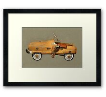 Roy Rogers Pedal Car Framed Print