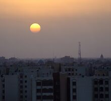 Baghdad Sunrise by Scott Chambless