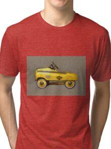 Taxi Cab Pedal Car Tri-blend T-Shirt