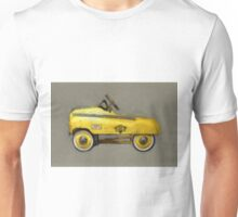 Taxi Cab Pedal Car Unisex T-Shirt