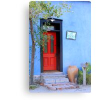 Bluesy Canvas Print