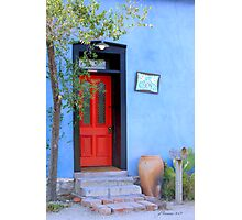 Bluesy Photographic Print
