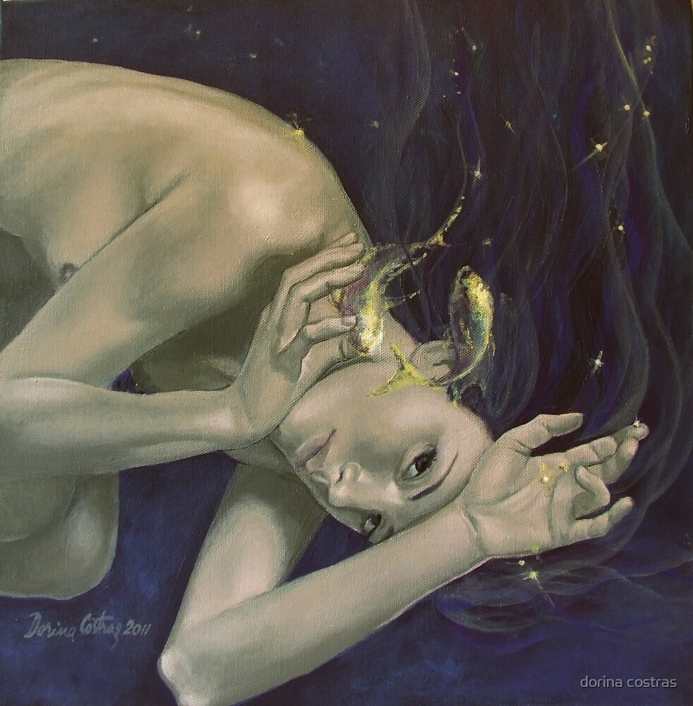 """Pisces""…from ""Zodiac signs"" series by dorina costras"