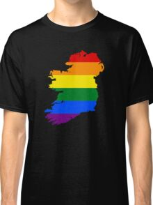 IRELAND GAY MARRIAGE PRIDE MAP Classic T-Shirt
