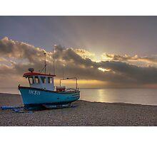 Aldeburgh sunrise 2 Photographic Print