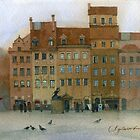 Warsaw square by Sergei Kurbatov