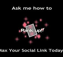 Ask me how to max your social link Pink by RikaKatsu