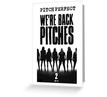 We're Back Pitches iPhone Case Greeting Card
