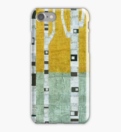 Early Winter Birches iPhone Case/Skin