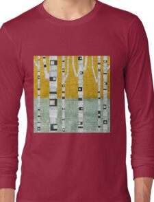 Early Winter Birches Long Sleeve T-Shirt