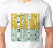 Early Winter Birches Unisex T-Shirt