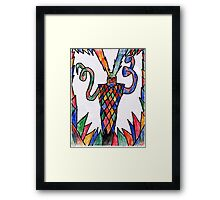 Electric Thanatos Framed Print