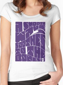 Original 1960s: A smooth wave soothes to the bones Women's Fitted Scoop T-Shirt