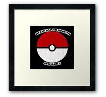 Pokemon gym leader Framed Print