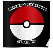 Pokemon gym leader Poster