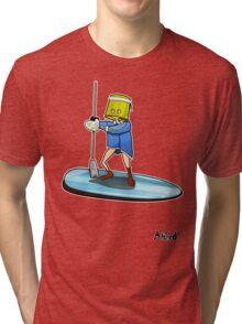 Bucket Head Surfer Tri-blend T-Shirt