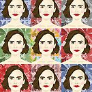 Lily Collins x9 by Victoria Ellis