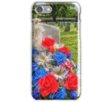 Remembering Soldiers iPhone Case/Skin