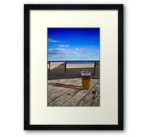 Anyone for a beer? Framed Print