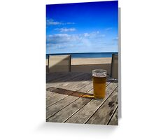 Anyone for a beer? Greeting Card