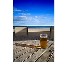 Anyone for a beer? Photographic Print