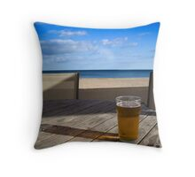 Anyone for a beer? Throw Pillow