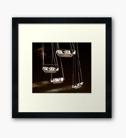 High Chairs Framed Print