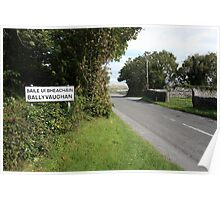 Ballyvaughan village Poster