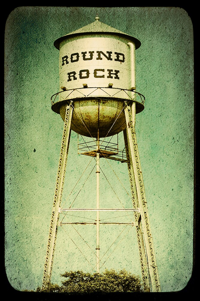 Round Rock by Trish Mistric