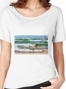 Waves Crash Women's Relaxed Fit T-Shirt