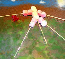 marshmallowman take t-rex for walkies by vampvamp