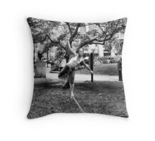 Tight Rope Walker 2 Throw Pillow