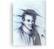 Mickey Rourke ( Pre-Plastic ) Metal Print