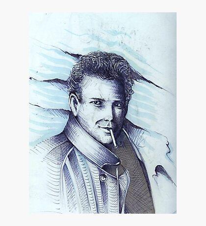 Mickey Rourke ( Pre-Plastic ) Photographic Print