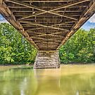 Beneath Potter's Covered Bridge by Kenneth Keifer