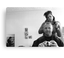 Hair Cut Canvas Print
