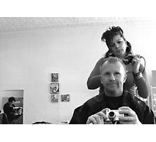 Hair Cut Photographic Print